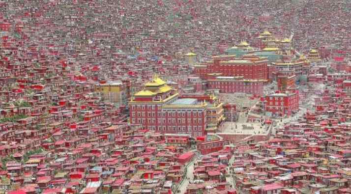 藏族天葬 天葬礼真实照片 揭秘色达天葬全过程