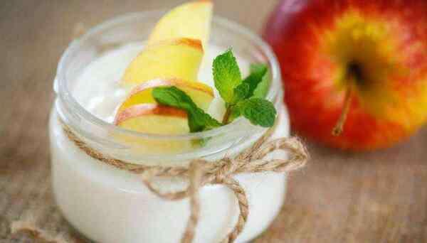 苹果加酸奶的功效与作用 酸奶和苹果能一起吃吗,能(同食助消化/有利减肥)