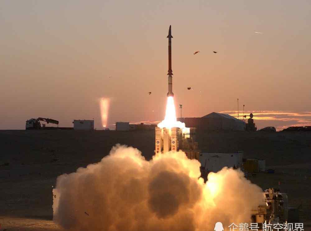 反导 美军航母中东耀武扬威,以军反导测试打爆目标,联手给伊朗上眼药