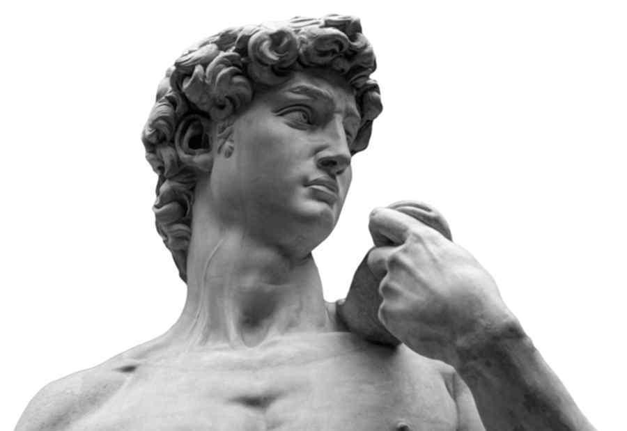 """大卫像 知名""""大卫像""""颈部爆青筋 证明米开朗基罗有丰富的解剖学知识"""